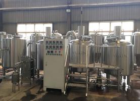 Sistema de Cervejaria Pub 600L