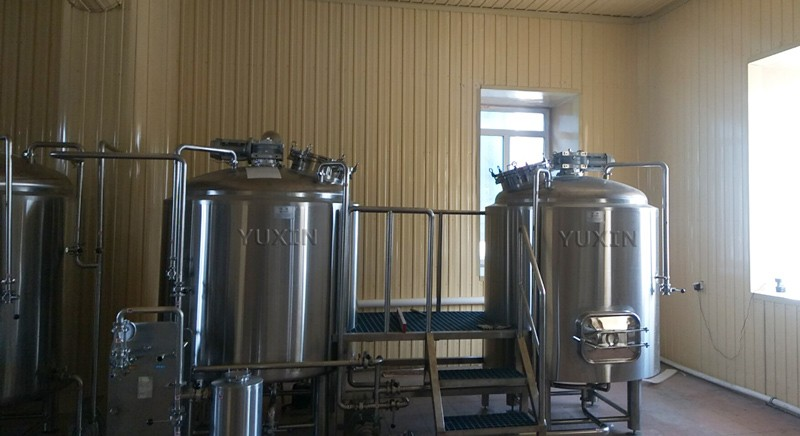 Our brewery is under installation in Russia now!