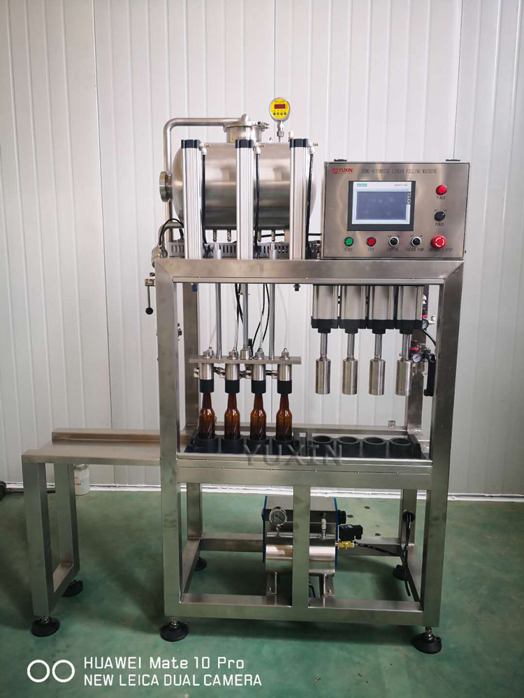 4heads bottling machine