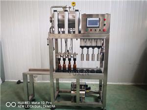 Новый тип оборудования для розлива пива в бутылки
