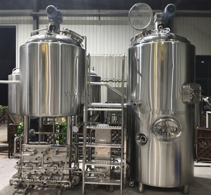 10bbl combined brewhouse stands up!