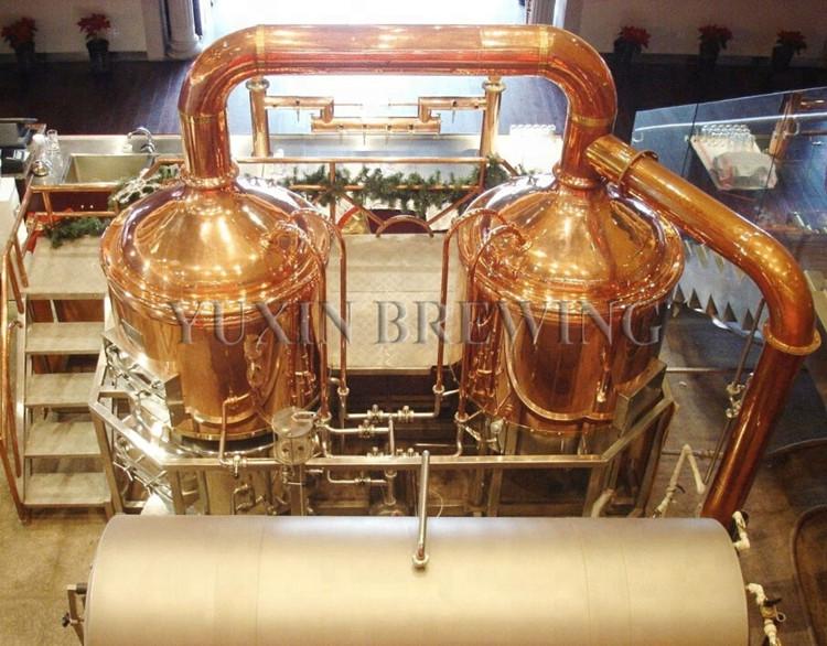 red copper beer equipment