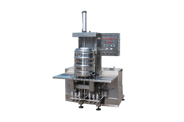 automatic keg washer