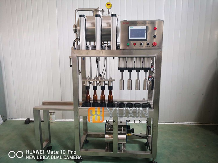 4 Heads Beer Bottle Filling/Capping Machine
