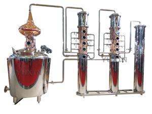 Echipament de distilare alcoolică de 300 litri