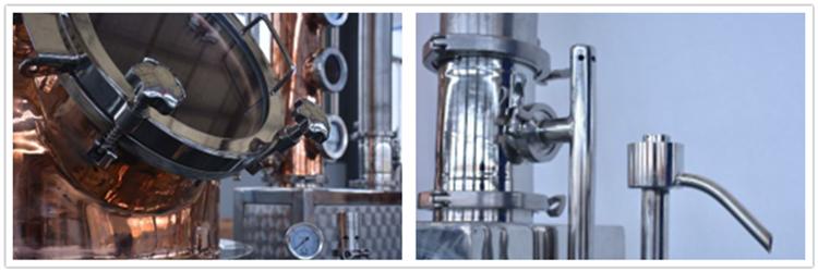 alcohol distillery equipment