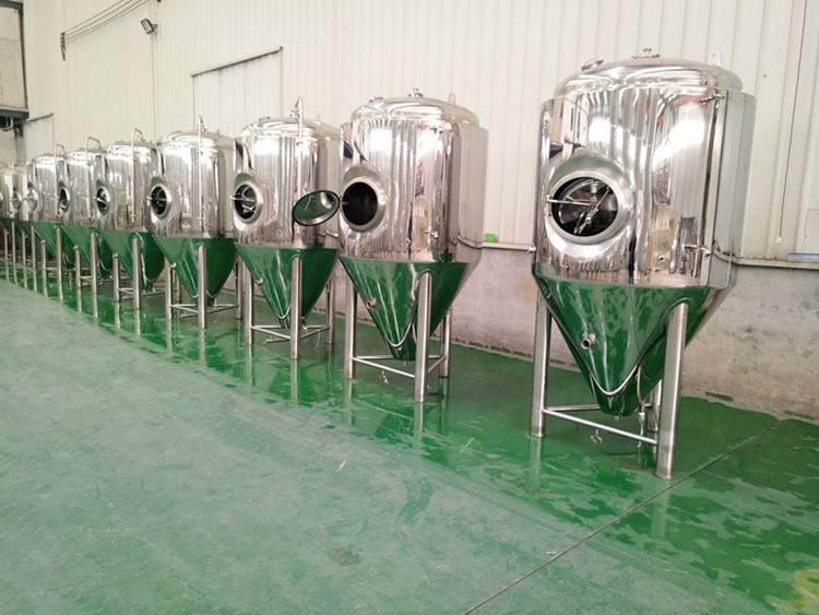 beer fermentation unitank