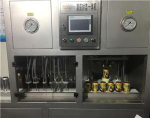 6 Heads Beer Canning and Capping Machine