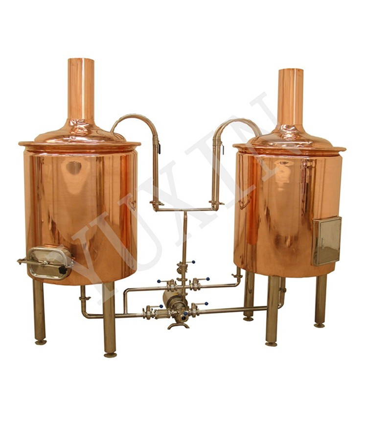 3BBL Red Copper Beer Brewing Equipment