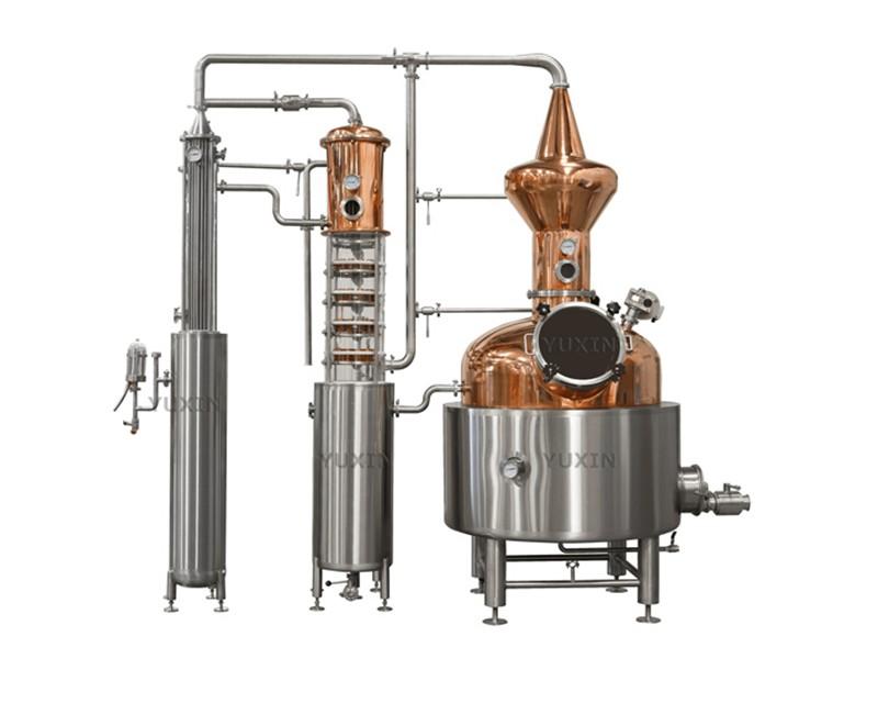 500L Copper Distiller Manufacturers, 500L Copper Distiller Factory, Supply 500L Copper Distiller