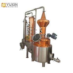 Usina de destilaria de cobre comercial 10BBL