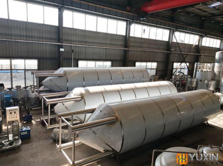 Large tanks in Production