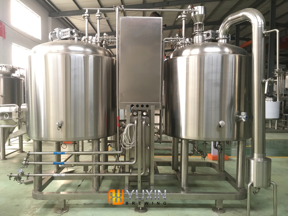 beer production equipment