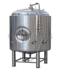 Jasny zbiornik piwa 200 l ze stali nierdzewnej
