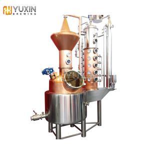 Echipamente de distilare de cupru 500L