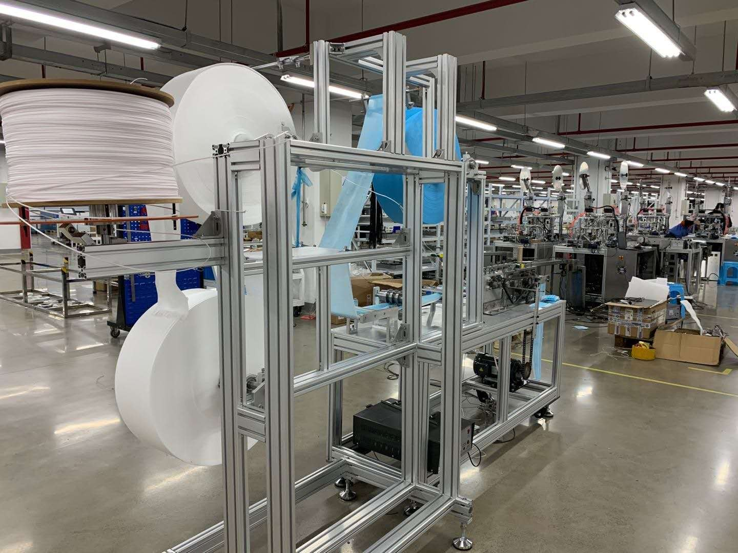 Full Automatic Face Mask Production Line