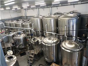 Fábrica de cerveja 5000L