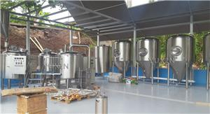 Cervejaria 1000L instalada na América Latina