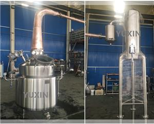 Destilaria com cebolinha