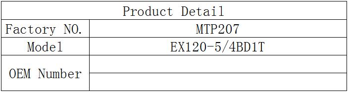 EX120-5/4BD1T pump