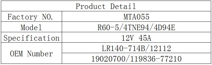 12V 45A