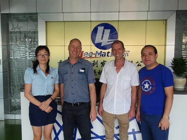 Australian Mark & Macus company visits us