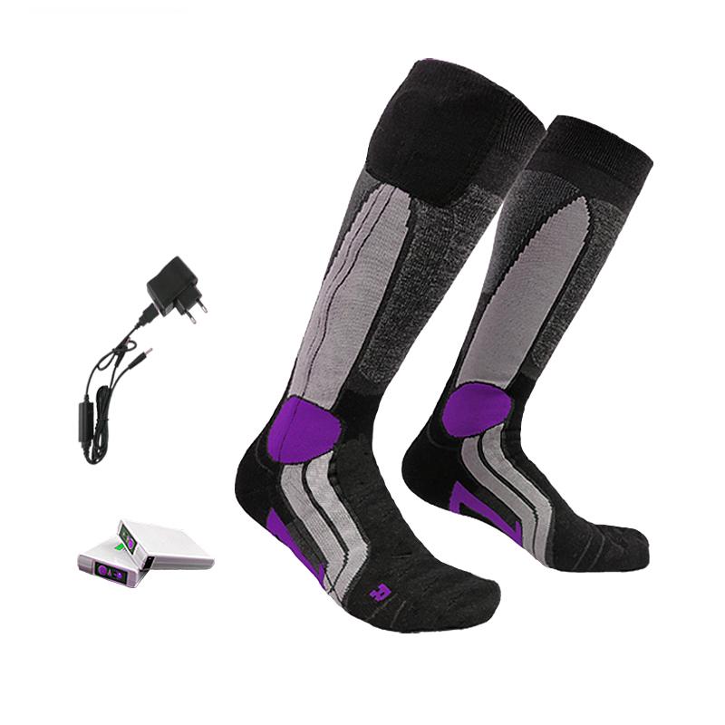 Warm heated socks
