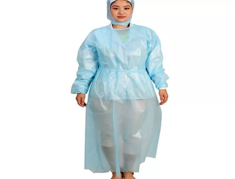 surgical disposable isolated gown