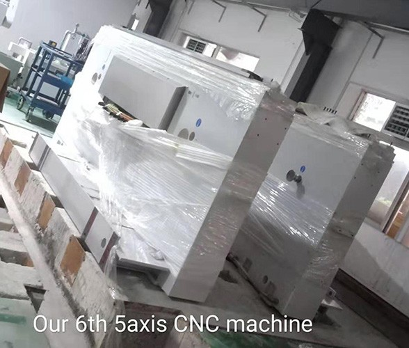 Our 6th 5 axis CNC machine has debuted already