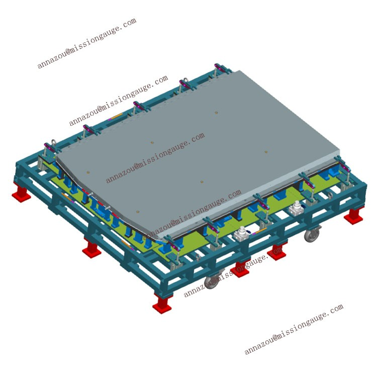 World Class Checking Fixture Battery Pack Gage for Automotive OEMs and Tier 1