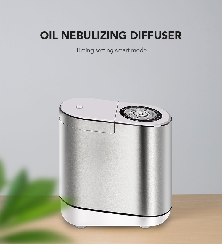 essential oil nebulizing diffuser