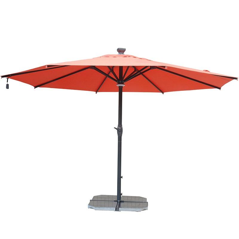 Remoted Control Patio Umbrella