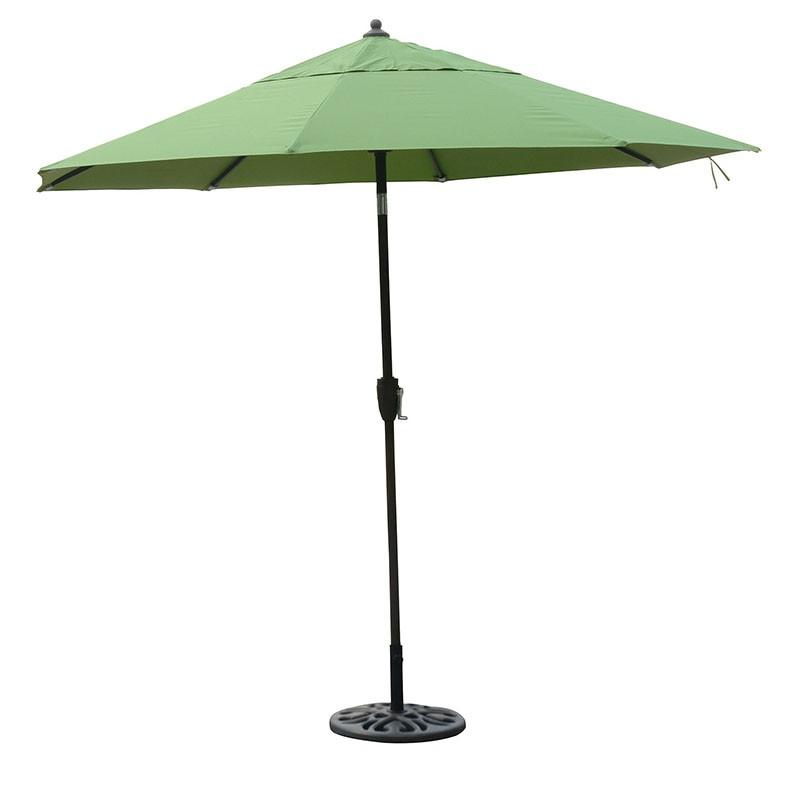 2020 New design 9Ft 2.7 meter heavy duty durable patio market umbrella outdoor with tilt umbrella for furniture