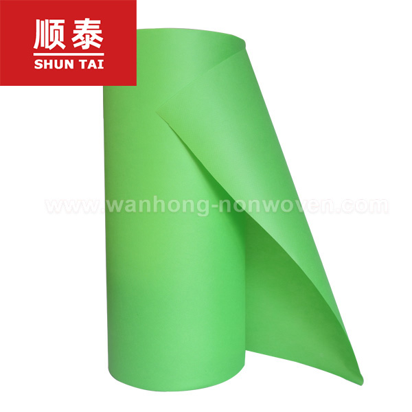 Colorful PP Spunbonded Nonwoven Fabric Raw Material For Making Non Woven Bags