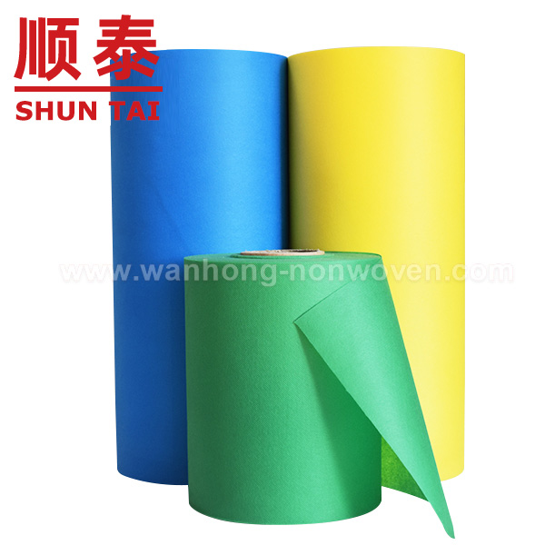PP Spun Bonded Non Woven Fabric Rolls / Recycled Polypropylene Spunbond Nonwovens Fabric Rolls