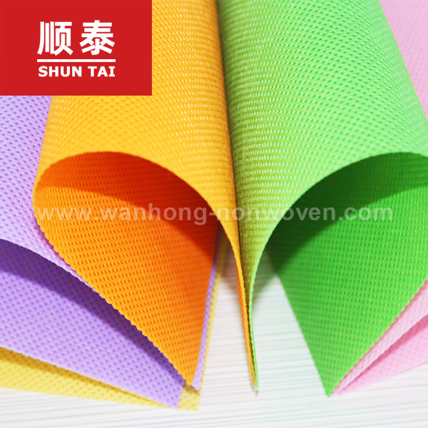 100% Pp Spunbond Fabric Textile Material Pp Non Woven Fabric Manufacturer In China