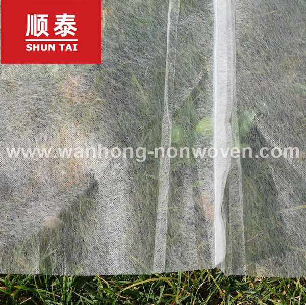 White Agriculture Plant Control Cover Pp Non Woven Fabric