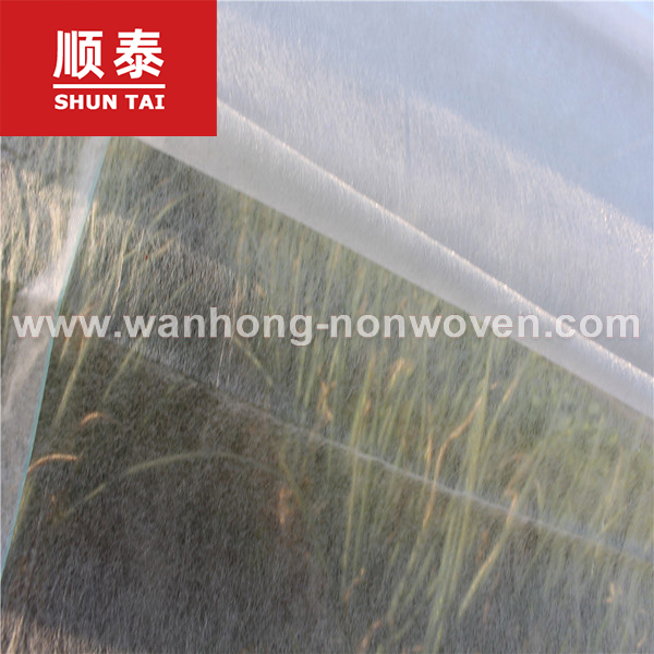 White Color Anti-UV Agricultural Plant Cover Non Woven Fabric