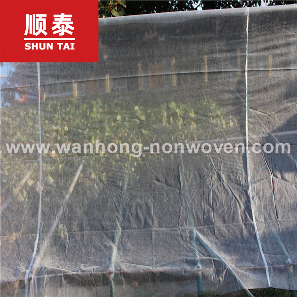 17m Super Wide Greenhouse 30g Agriculture Nonwoven Fabric Non Woven Fabric In China