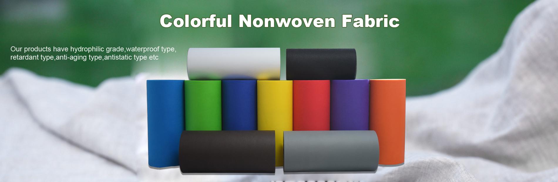 Colorful Nonwoven Fabric