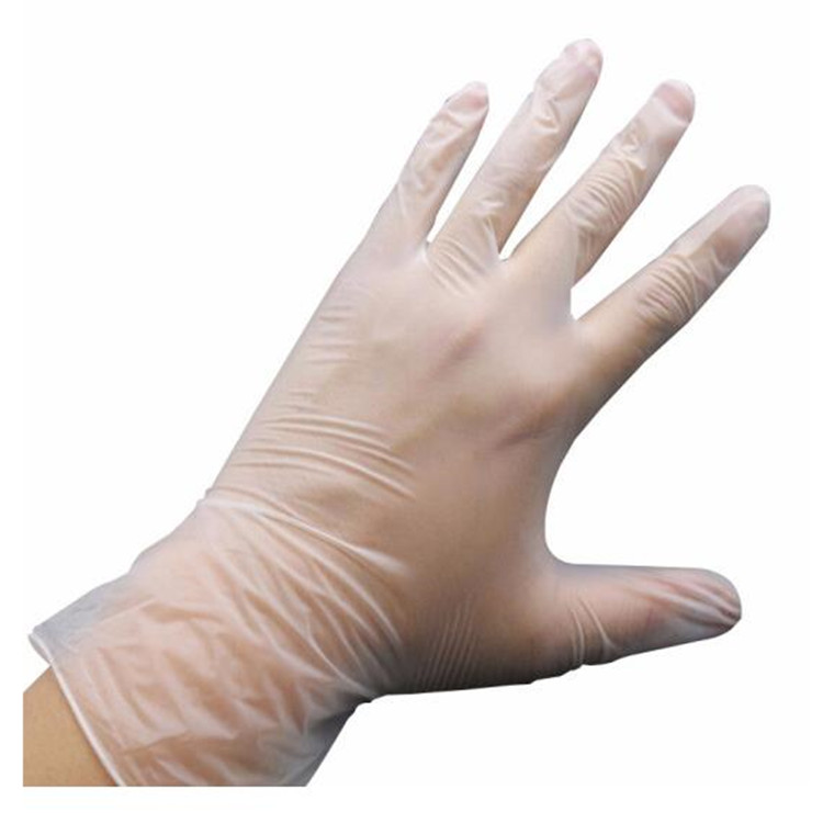 Disposable Clear Latex PVC Vinyl Gloves