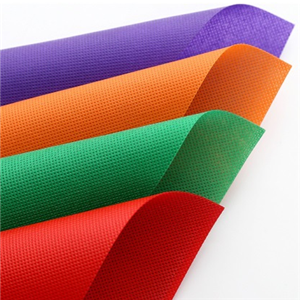 90 GSM Colorful Shopping Bag Making TNT Fabric Roll