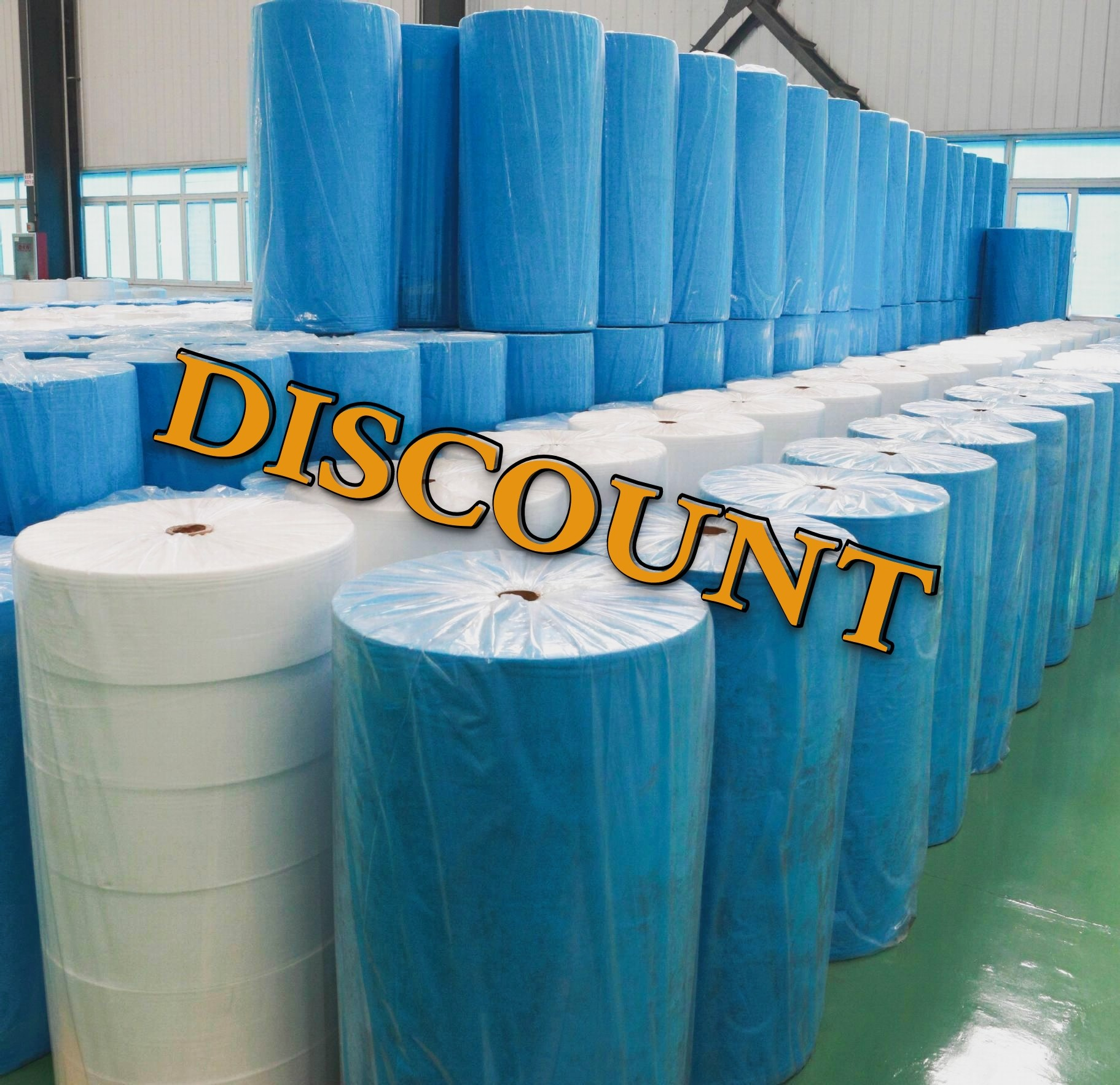 SS 185mm non-woven fabric for mask PP spunbond fabric