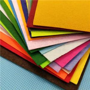 Composite needle punched non-woven felt cloth