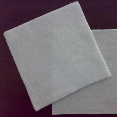 Filament short-filament polyester needle-punched geotextile
