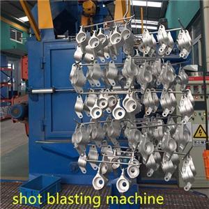 Hook Type Shot Blasting Machine