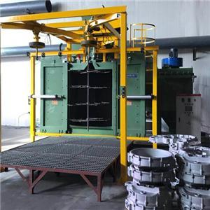 Roller Type Shot Blasting Machine