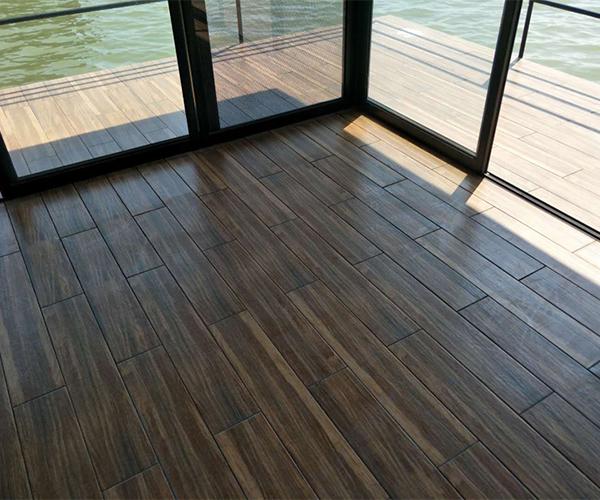 Wood Plastic Flooring