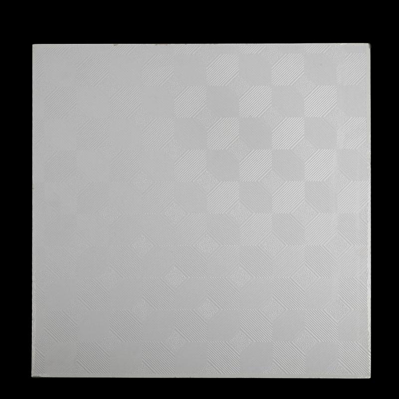 Plafond PVC laminé gypse