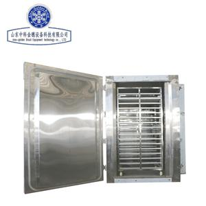cabinet freezer with tray carts